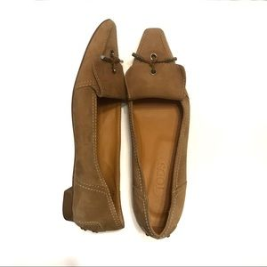 Tod's Shoes - Tod's Tan Moccasin Loafer with Tassels Size US 8